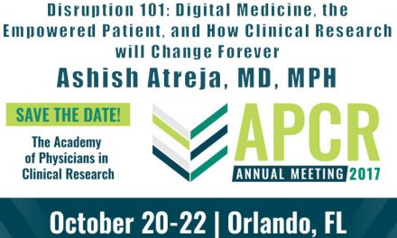 Dr. Atreja to Speak on the Clinical Research behind Digital Medicine at Annual APCR Meeting