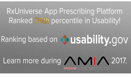 RxUniverse's Pilot Study Results to be Presented at AMIA 2017 Annual Symposium