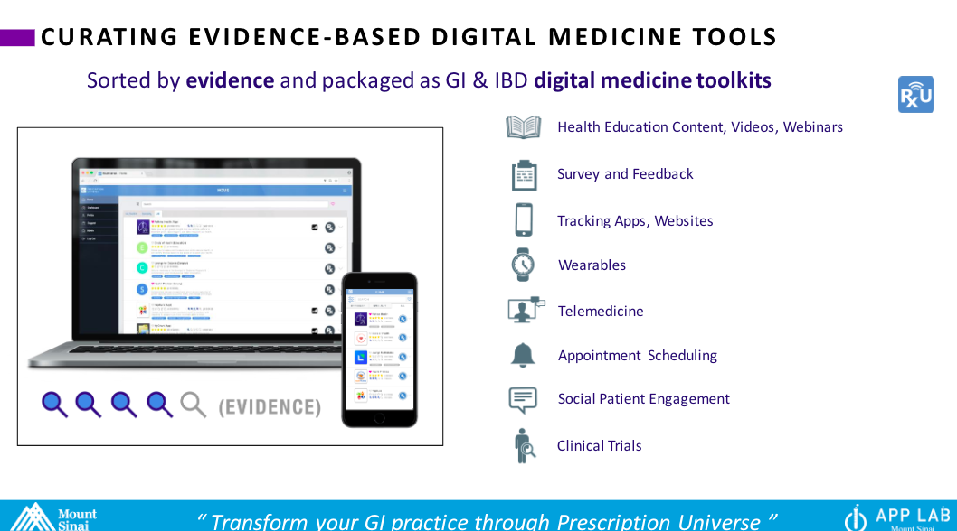 Rx.Health Unveils GI Digital Medicine Toolkit, Presents Results of Two-Year HealthPROMISE Clinical Trial at Digestive Disease Week 2018