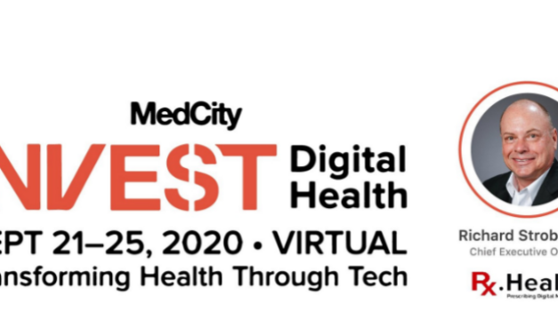 Rx.health is selected among top 5 to pitch at MedCity INVEST on Payer provider efficiency