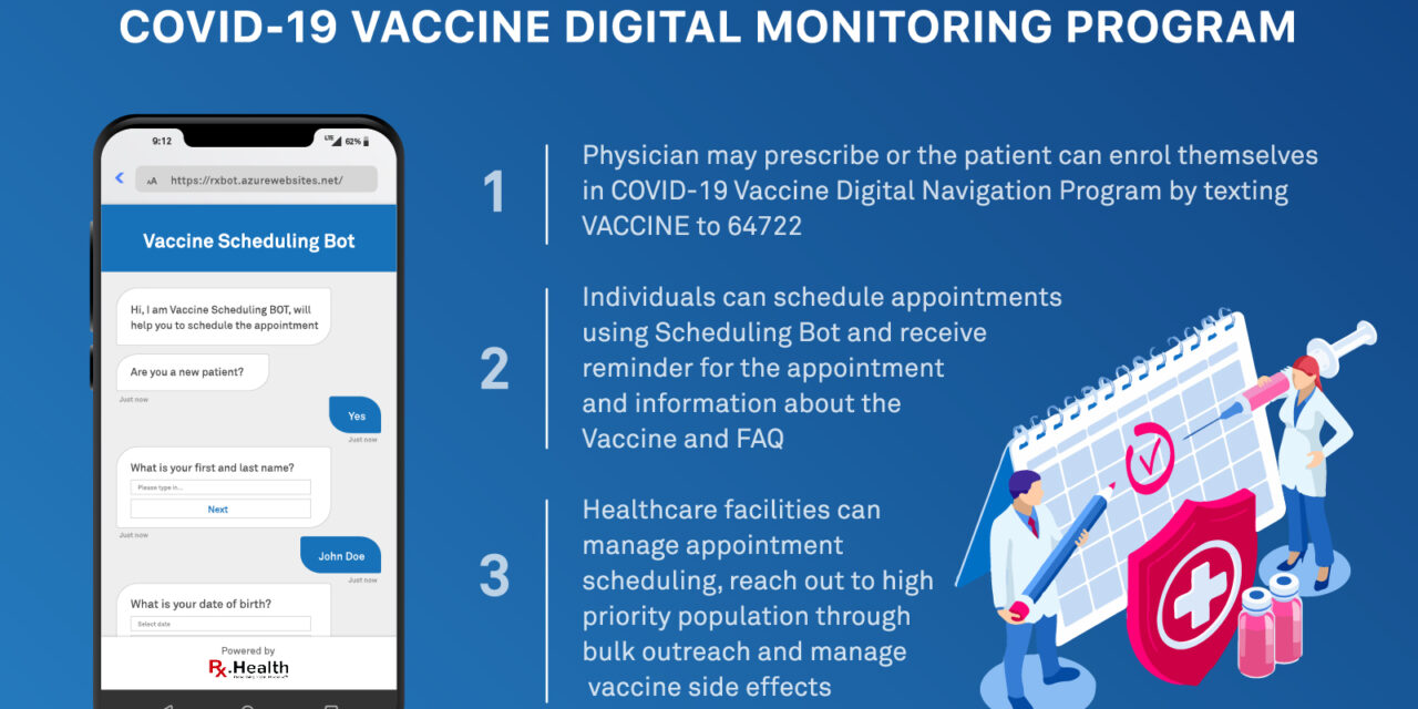 Digital tool to guide you through COVID-19 Vaccination